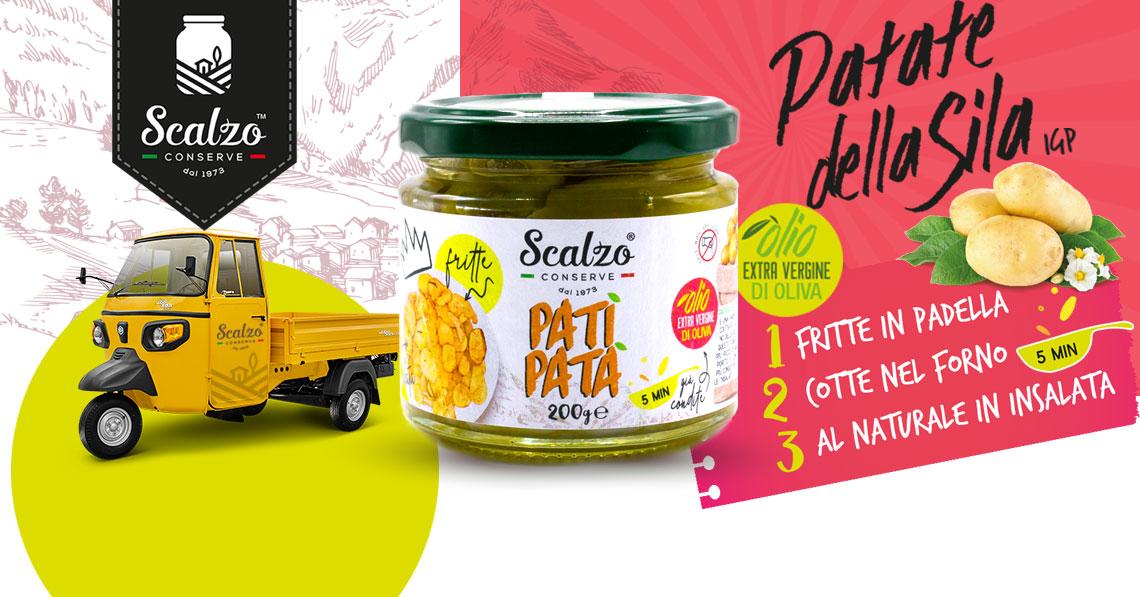 Patì Patà, le chips in vasetto